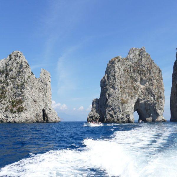 Capri l'elegante isola della Campania